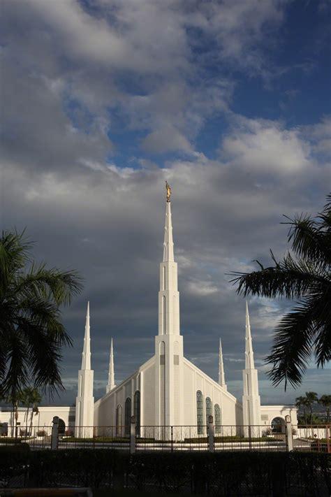 manila philippines temple   storm