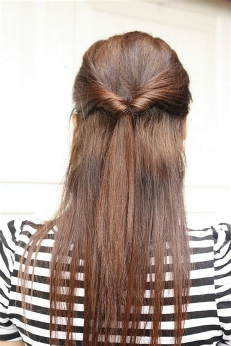 leichte frisuren für lange haare 40 schicke vorschl 228 ge f 252 r schnelle und einfache frisuren archzine net