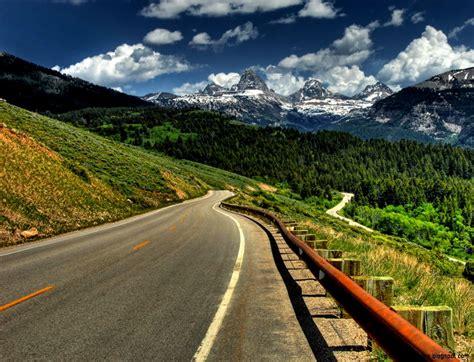 Wonderful Mountain Road 3d Hd Wallpaper Download