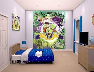 Fototapete Kinderzimmer Jungen : walltastic fototapete kinderzimmer ben 10 omniverse www 4 ~ Eleganceandgraceweddings.com Haus und Dekorationen