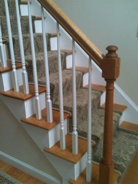 painted banisters should we paint stain banister only