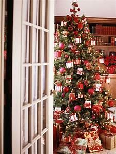 Weihnachtsbaum Rot Weiß : weihnachtsbaum schm cken 25 verschiedene stile und deko ideen ~ Yasmunasinghe.com Haus und Dekorationen