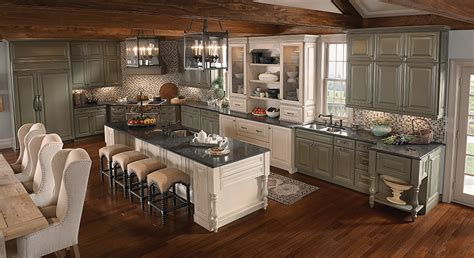 kitchen island installation 5 most popular kitchen layouts kraftmaid