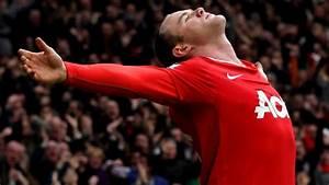 Wayne Rooney celebrates after his iconic bicycle kick goal ...