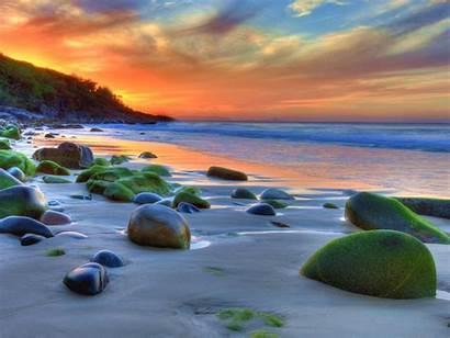 4k Beach Wallpapers Stones Nature Desktop Mobile