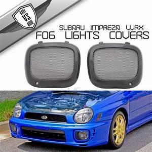 2002 Wrx Wagon Lights Fit For 2002 2003 Subaru Impreza Wrx Jdm Mesh Fog Lights