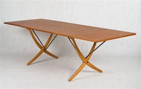 glass dining hans j wegner designed dining table model at 304 made by