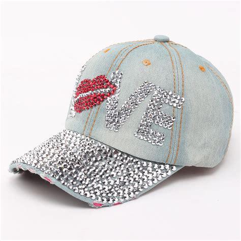 designer baseball caps new denim baseball hats caps 2016 summer brand