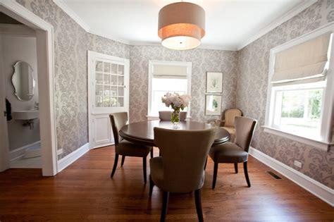 dining room designs  damask wallpaper patterns