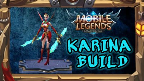 Mobile Legends (karina Build / Gameplay Android 1080p