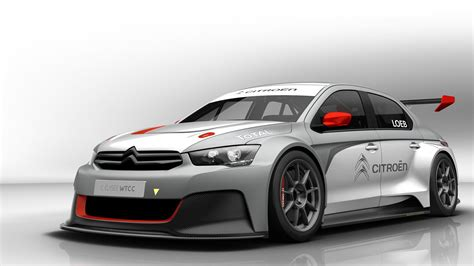 Citroen Car : 2013 Citroen C Elysee Wtcc Wallpaper