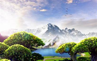 Scenery Forest Etc Fantasy Wallpapers Widescreen