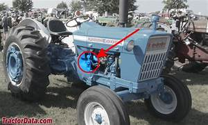Ford 4000 Tractor Serial Number Location