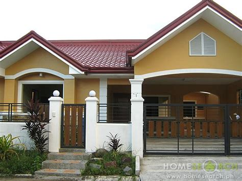 Decorative Storey Bungalow House Design by Houses For Bf Homes Paranaque Philippine