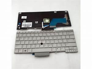 Laptop Keyboard For Hp Elitebook 2740 2740p Us Layout Gray