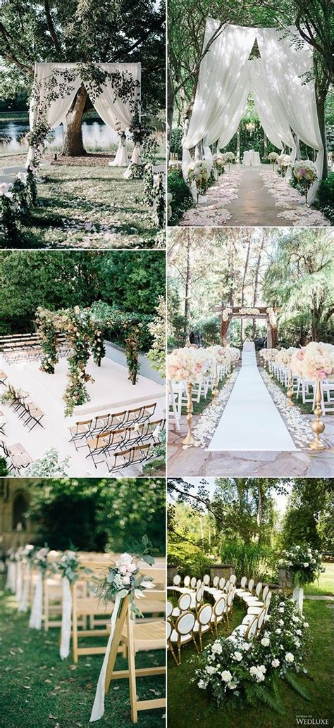Garden Decoration Wedding by Best 25 Wedding Chapel Decorations Ideas On