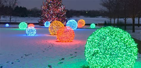 lighted christmas balls