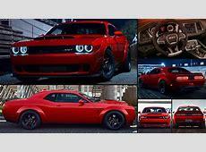 Dodge Challenger SRT Demon 2018 pictures, information