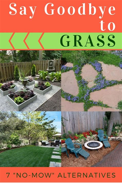 How To Grow Grass In Backyard by Goodbye Grass 13 Inspiring Ideas For A Quot No Mow Quot Backyard