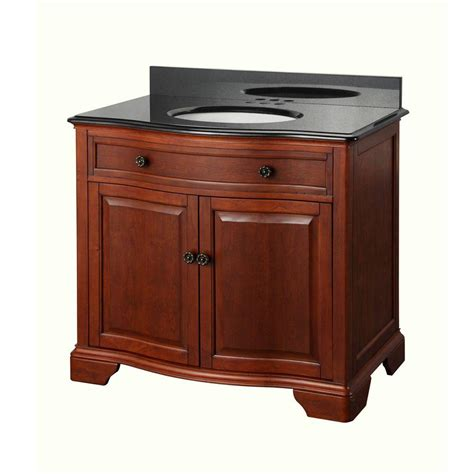 pegasus manchester 37 in vanity in mahogany with granite