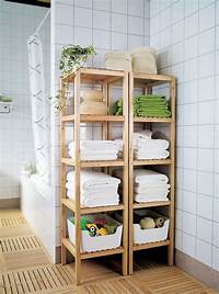 bathroom storage shelves 15 Exquisite Bathrooms That Make Use of Open Storage