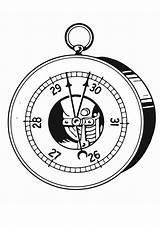 Barometer Coloring Pages Printable Edupics sketch template