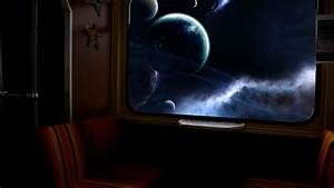 View from the window of the spacecraft wallpapers and ...