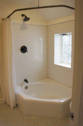 bathroom curtain ideas for shower corner tubs for small bathrooms foter