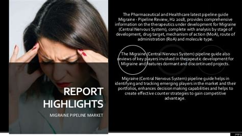 Migraine Pipeline Market Overview, Assessment and Industry ...
