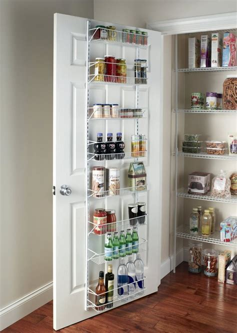 kitchen wall organization door spice rack cabinet organizer wall mount storage 3455