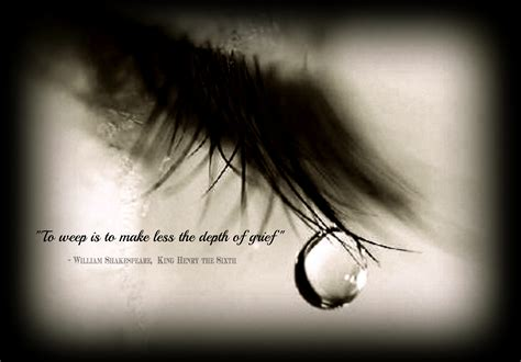 Shedding Tears Quotes