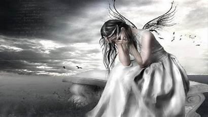 Fairy Angel Crying Wallpapers Fairies Angels Dark