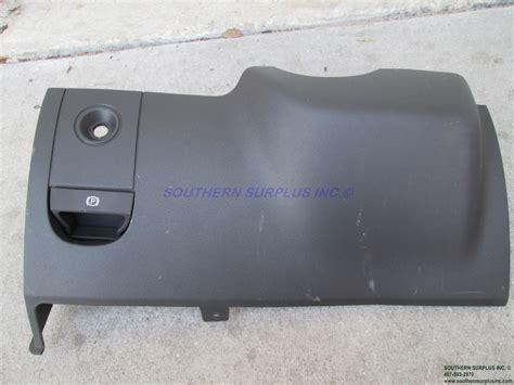 mopar ccxdvad steering column cover black instrument