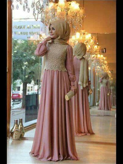 model baju brokat muslimah  anggun  cantik