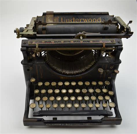 Alte Schreibmaschinen Wert by Antique Underwood Typewriter No 5 Circa 1917 Vintage