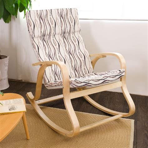 sobuy fst15 sw rocking chair fauteuil 224 bascule fauteuil ber 231 ant