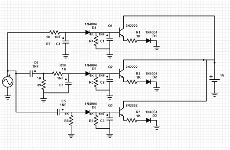 Led Schematic Check For Color Organ Electrical