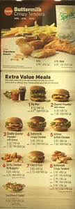 McDonald's menu with prices - SLC menu