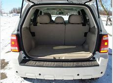 Image Ford Escape Hybrid Cargo Space Seats Up, size