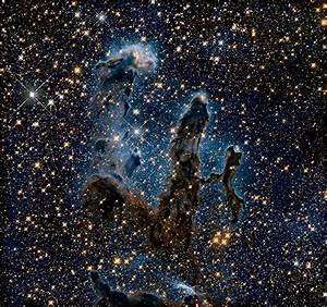 New view of the Pillars of Creation — infrared | ESA/Hubble