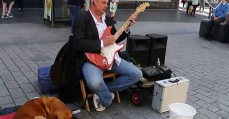 Music Fans Raise Thousands For Blind Busker After