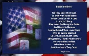 Memorial Day Fallen Soldiers Poem
