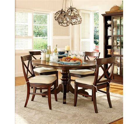 Pottery Barn Aaron Chair Espresso by Pottery Barn Aaron Wood Seat Chair Living Dining Room