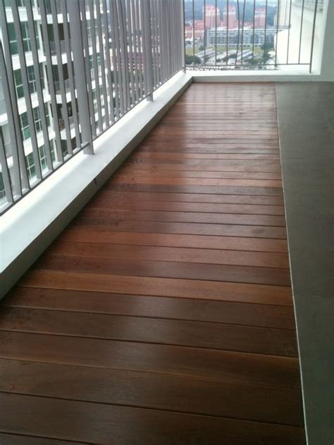 HongYe: Timber Decking, Solid Timber Deck Singapore   Hong