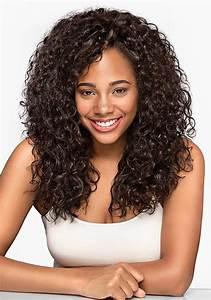 Natural Curly Hair Extension Silk Indian Hair