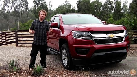 2015 Chevrolet Colorado Mid-sized Pickup Truck Test Drive