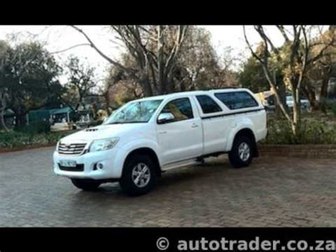 2011 toyota hilux 3 0 d4d single cab auto for sale on auto trader south africa