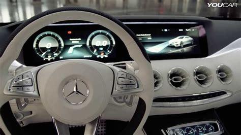 mercedes  class coupe concept interior youtube