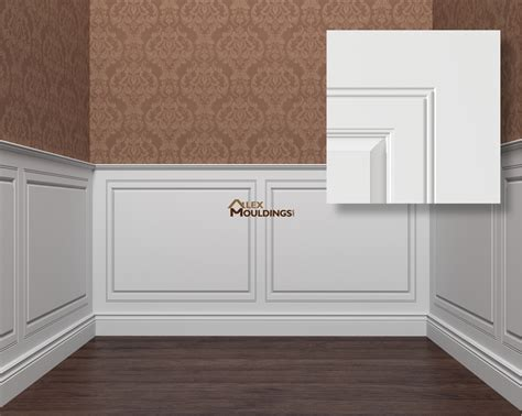 Wainscoting With Paneling by Wall Panels Wainscoting Raised Recessed Flat
