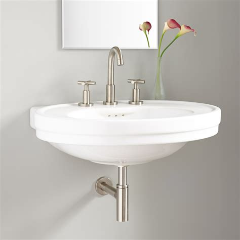 Wall Mount Sink by Cruzatte Porcelain Wall Mount Sink Wall Mount Sinks